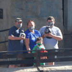Teen boy with Chiari malformation building a droid at Disney with his family