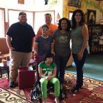 Family at Sunshine Foundation Dream Village