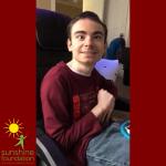 Teen boy with hypotonia receives Xbox